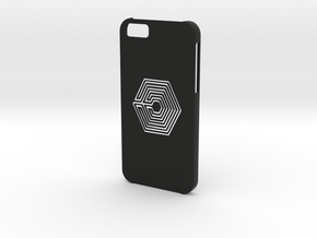 Iphone 6 Labyrinth case in Black Strong & Flexible
