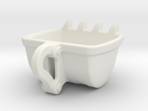 Bulldozer cup Espresso size : 60ml in White Natural Versatile Plastic