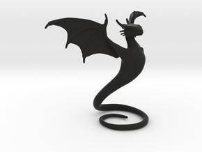 Desk Dragon in Black Strong & Flexible