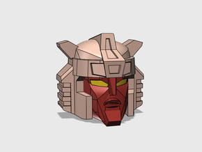 """Breeze Rider Head """"TFCC""""  in Smooth Fine Detail Plastic"""