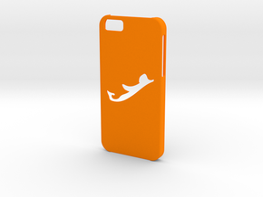 Iphone 6 Bermuda case in Orange Strong & Flexible Polished