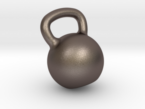 Kettle Big Customizable for Bodybuilders in Polished Bronzed Silver Steel