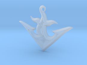 ANCHOR 2 in Smooth Fine Detail Plastic