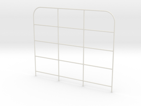 Front-gate-H140mm in White Natural Versatile Plastic