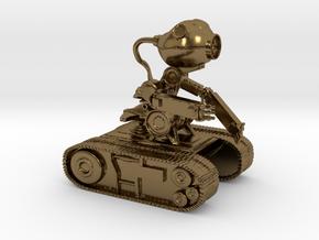 Echobot in Polished Bronze