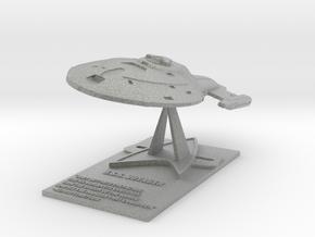 U.S.S. Voyager Desk Top Model in Metallic Plastic
