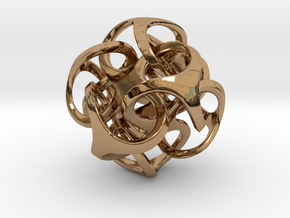 Metatron 19mm in Polished Brass