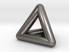 0278 Tetrahedron V&E (full color) in Polished Nickel Steel