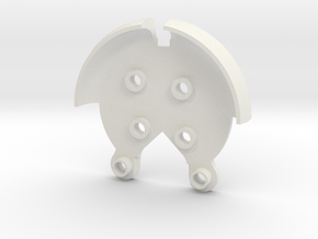 Strong Arm for DJI Phantom 2 & 3 in White Natural Versatile Plastic