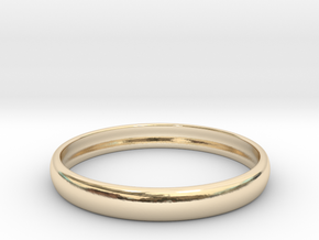 PA RingEasyCT12t08H3d215 in 14K Gold