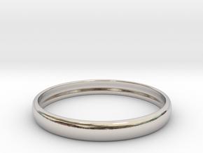 PA RingEasyCT12t08H3d23 in Platinum