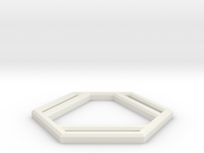 Benzene in White Natural Versatile Plastic