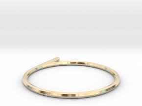 hexagonal ring in 14K Yellow Gold