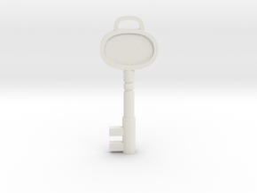 Resident Evil 3: Sickroom Key in White Natural Versatile Plastic