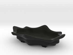 Bonsai Pot - Lotus Blossom in Black Strong & Flexible