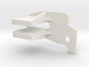 Viewfinder connector protector for Sony PMW-F5 and in White Natural Versatile Plastic