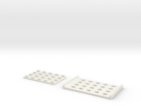 Casio MQ-1 Keypad in White Strong & Flexible