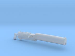 1/20 scale Browning M1917 machine gun in Smooth Fine Detail Plastic