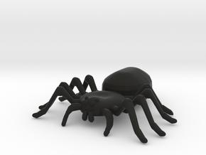 Spider in Black Natural Versatile Plastic