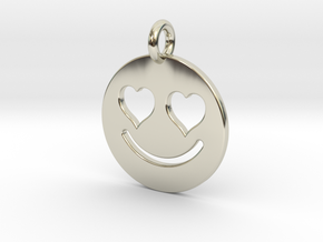 Smilie Love in 14k White Gold