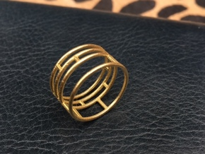 Delicatesse (Size small - 4) in Natural Brass