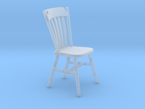 1:24 Thumb Chair (NOT FULL SIZE) in Smooth Fine Detail Plastic