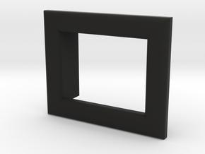 Fat Daddy Vapes - Modmeter Bezel - 1.0 in Black Natural Versatile Plastic