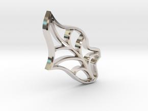 Single Leaf - Tiling the Plane - Multi-use  in Platinum
