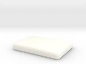 Kw Style Bunk Cap for Stock bunk in White Processed Versatile Plastic