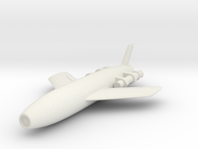 Vought SSM-N-8 Regulus I 1/144 in White Strong & Flexible
