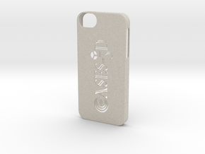 Iphone 5/5s  with Logo in Sandstone