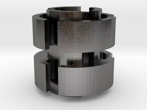 Bead Scales in Polished Nickel Steel