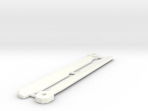 Combat Heli Main Rotor Blades x2 in White Processed Versatile Plastic