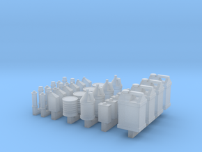 1/64 Shop Containers in Smooth Fine Detail Plastic