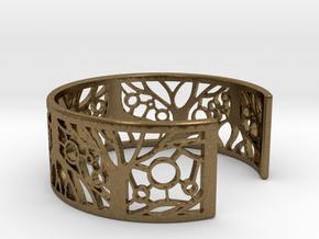 Tree of Life Bracelet 60mm in Natural Bronze