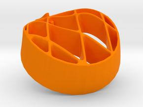 Rodins Enaegram Pendant in Orange Strong & Flexible Polished