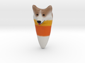 Candy Corgi in Full Color Sandstone