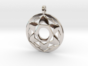 ALYSSA'S CHARM in Rhodium Plated