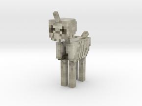 Skeleton Pony in Full Color Sandstone
