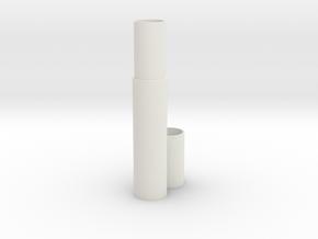 Fountain pen case in White Strong & Flexible