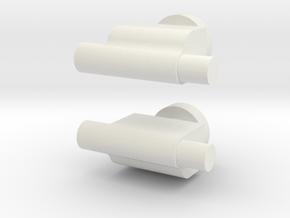 Handconnector TFC OS Uranos V2 in White Natural Versatile Plastic