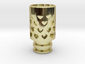 Vanishing Hearts Driptip in 18k Gold