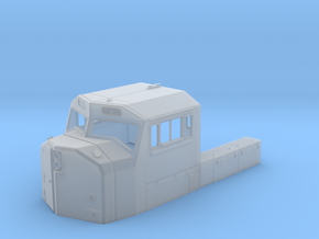 CB0001 CN SD75I Cab 1/87.1 in Frosted Extreme Detail