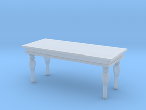 Miniature 1:48 Marble Table in Frosted Ultra Detail