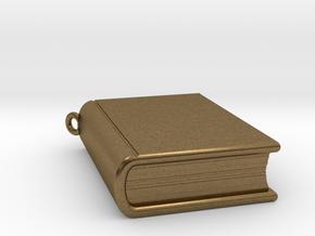Book Nibbler - Custom in Natural Bronze