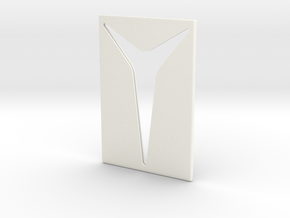 Youniversal Cardholder, Accessoir in White Processed Versatile Plastic