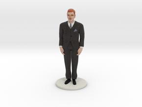 Redhead Groom (v.1) in Full Color Sandstone