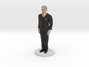 Blond Groom (v.1) in Full Color Sandstone
