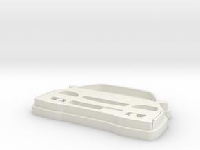 Civic EK9 in White Natural Versatile Plastic