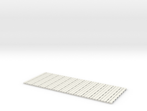 P-65stp-straight-long-110-75-pl-x12-1a in White Natural Versatile Plastic